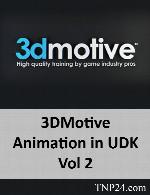 آموزش ایجاد کردن حرکات مورد نظر کاراکتر بازی در نرم افزار UDK3DMotive Animation in UDK Vol 2