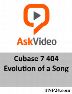 آموزش Cubase 7 404 EvolutionAskVideo Cubase 7 404 Evolution of a Song