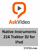 آموزش  Traktor DJ for iPadAskVideo Native Instruments 216 Traktor DJ for iPad