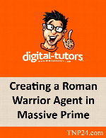 آموزشی ساخت یک کاراکتر جنگجو به کمک Massive ، Maya ، Motion BuilderDigital Tutors Creating a Roman Warrior Agent in Massive Prime