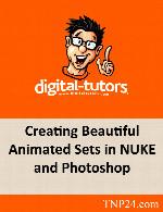 آموزش ماسک گذاری تصاویر و ایجاد یک مجموعه انیماتوری با NUKEDigital Tutors Creating Beautiful Animated Sets in NUKE and Photoshop