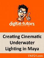 آموزش ساخت یک تصویر سینمایی در زیر آب با نرم افزار MayaDigital Tutors Creating Cinematic Underwater Lighting in Maya