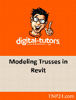 آموزش تمامی پارامترها و امکانات طراحی انواع خرپاهاDigital Tutors Modeling Trusses in Revit