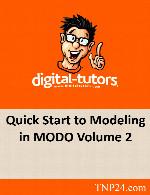 آموزش ابزارها و امکانات مدلسازی نرم افزار MODO 2Digital Tutors Quick Start to Modeling in MODO Volume 2