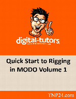 آموزش متحرک سازی شخصیت در MODO 1Digital Tutors Quick Start to Rigging in MODO Volume 1