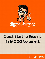 آموزش متحرک سازی شخصیت در MODO 2Digital Tutors Quick Start to Rigging in MODO Volume 2