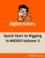 آموزش متحرک سازی شخصیت در MODO 3Digital Tutors Quick Start to Rigging in MODO Volume 3