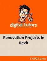 آموزش مدل سازی مجدد مدل ها در RevitDigital Tutors Renovation Projects in Revit