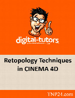 آموزش تکنیک های Retopology در Cinema 4DDigital Tutors Retopology Techniques in CINEMA 4D