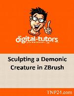 آموزش  ساخت یک هیولا در نرم افزار زدبراشDigital Tutors Sculpting a Demonic Creature in ZBrush