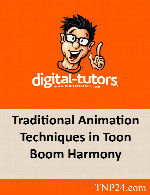 آموزش انیمیشن سازی در Toon Boom HarmonyDigital Tutors Traditional Animation Techniques in Toon Boom Harmony