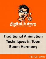 آموزش انیمیشن سازی در Toon Boom HarmonyDigital Tutors Traditional Animation Techniques in Toon Boom Harmony