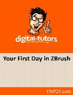 آموزش طراحی و مدلسازی گام به گام یک موجود کوچک در نرم افزار زدبراشDigital Tutors Your First Day in ZBrush