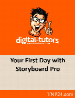 آموزش نرم افزار استوری بورد پروDigital Tutors Your First Day with Storyboard Pro