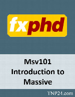 آموزش Massive 101FxPhd Msv101 Introduction to Massive