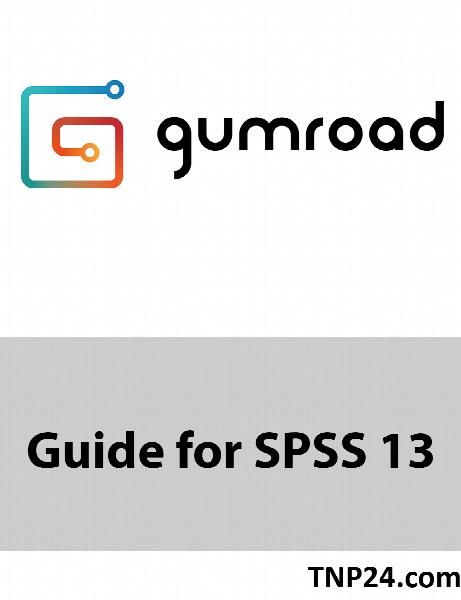 آموزش SPSS 13 / Guide for SPSS 13