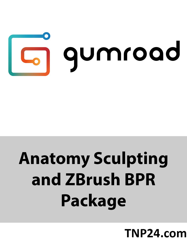 آموزش تکنیک های حجاری بسیار واقعی کاراکترهای سه بعدی در ZBrushGumroad Anatomy Sculpting and ZBrush BPR Package