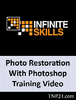 آموزش برخی از امکانات ادیت عکسInfiniteSkills Photo Restoration With Photoshop Training Video