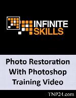 آموزش برخی از امکانات ادیت عکسInfiniteSkills Photo Restoration With Photoshop Training Video