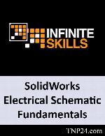 آموزش استفاده از نرم افزار SolidWorks برای انجام پروژه های الکتریکیInfiniteSkills SolidWorks Electrical Schematic Fundamentals