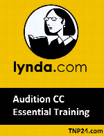 آموزش نرم افزار Adobe Audition CCLynda - Audition CC Essential Training