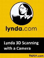 آموزش تبدیل تصاویر دوربین دیجیتال به اسکن سه بعدیLynda 3D Scanning with a Camera