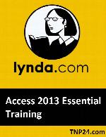 آموزش قابلیت های اساسی  Access 2013Lynda Access 2013 Essential Training