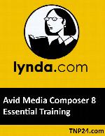 آموزش قابلیت های اساسی Avid Media Composer 8 Essential TrainingLynda Avid Media Composer 8 Essential Training