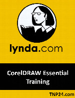 آموزش  CorelDRAWLynda CorelDRAW Essential Training