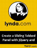 آموزشی ایجاد کردن Content Slider های شامل چندین Panel و Tab با  jQueryLynda Create a Sliding Tabbed Panel with jQuery and Dreamweaver