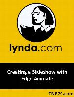 آموزش استفاده از نرم افزار Edge Animate برای ساخت زیباترین اسلاید شوهاLynda Creating a Slideshow with Edge Animate