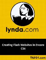آموزش ایجاد وب سایت های فلش با نرم افزار Adobe EncoreLynda Creating Flash Websites in Encore CS4