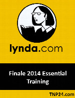 آموزش استفاده از برنامه ساخت نوت های موسیقی FinaleLynda Finale 2014 Essential Training