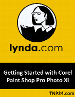 آموزش اصول اولیه نرم افزار Corel PaintShop ProLynda Getting Started with Corel Paint Shop Pro Photo XI