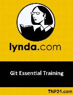 آموزش اصول اصلی کار با ابزار GitLynda Git Essential Training