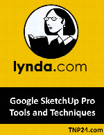 آموزش Google SketchUpLynda Google SketchUp Pro Tools and Techniques