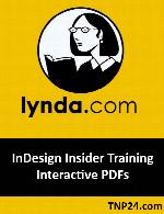 آموزش ساخت مجلات PDF محاوره ای بوسیله InDesignLynda InDesign Insider Training Interactive PDFs