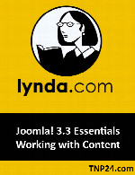 آموزش نرم افزار جوملاLynda Joomla! 3.3 Essentials Working with Content