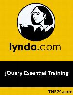 آموزش نرم افزار  جیکوئریLynda jQuery Essential Training