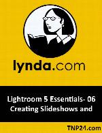 آموزش امکانات و ابزارهای جدید نسخه 10.1  نرم افزار Logic ProLynda Lightroom 5 Essentials- 06 Creating Slideshows and Web Galleries