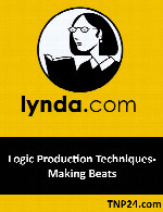 آموزش تکنیکهای تولید صوت با LogicLynda Logic Production Techniques- Making Beats