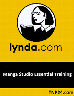 آموزش استفاده از نرم افزار Manga StudioLynda Manga Studio Essential Training