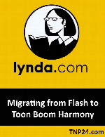 آموزش استفاده از امکانات و ابزارهای Edge AnimateLynda Migrating from Flash to Toon Boom Harmony
