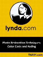 آموزش تکنیک های ترمیم تصاویر قدیمیLynda Photo Restoration Techniques: Color Casts and Fading