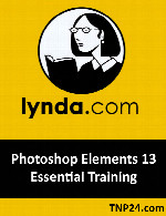 آموزش Photoshop ElementsLynda Photoshop Elements 13 Essential Training