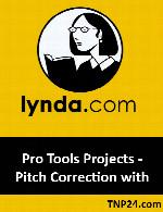 آموزش چگونگی استفاده از افزونه Auto-Tune در نرم افزار Pro ToolsLynda Pro Tools Projects - Pitch Correction with Antares Auto-Tune Evo