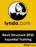 آموزش Revit Structure 2016Lynda Revit Structure 2016 Essential Training
