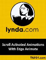آموزش استفاده از Edge Animate برای ساخت انیمیشن هایی که با اسکرول ماوس فعال شدهLynda Scroll Activated Animations With Edge Animate