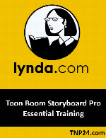 آموزش استفاده از نرم افزار Toon Boom StoryboardLynda Toon Boom Storyboard Pro Essential Training