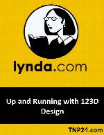 آموزش چگونگی آغاز کار با 123D DesignLynda Up and Running with 123D Design